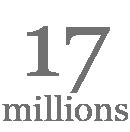 17 millions